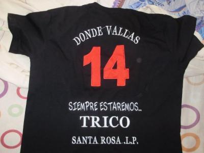 La camiseta de los hinchas