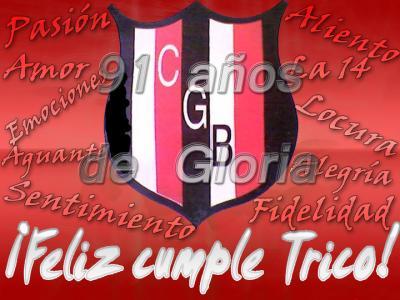 Felices 91 años Belgrano querido!!